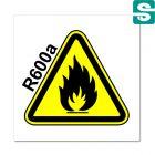 Naklejki gwarancyjne Uwaga Warning R600a