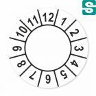 Etykiety inspekcyjne fi 13mm
