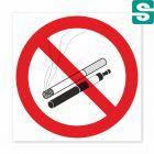 Naklejki Zakaz Palenia