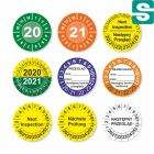 Etykiety inspekcyjne fi 30mm