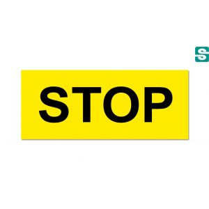 Nalepka STOP