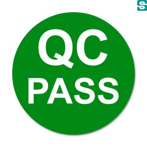 naklejki QC Pass