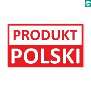 Nalepki produkt polski