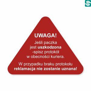 Etykiety Spisz protokół, trójkątne