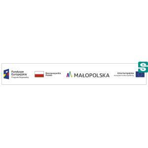Naklejki Unia Europejska Fundusze Europejskie Program Regionalny 75x11mm