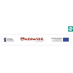 Naklejki Unia Europejska Europejski Fundusz Rozwoju Regionalnego 97x15mm