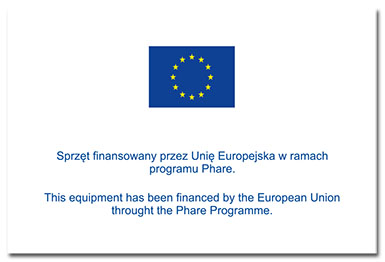 Naklejki unijne unii europejskiej program phare