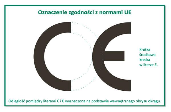 Prawidłowe oznakowanie CE